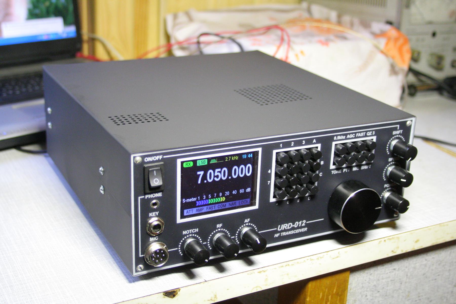 Трансивер Радио  77 Монтаж корпуса элементов и ГПД